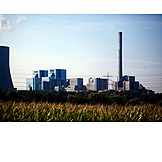 Industry, Power Station, Factory Plant