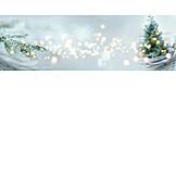 Winter, Christmas, Lights