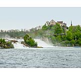 Waterfall, Rhine River, Rhine Falls