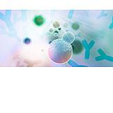 Research, Virus, Antibody, Bacterium