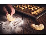 Christmas cookies, Christmas cookies, Cornets