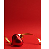 Heart Shaped, Christmas Tree Decorations