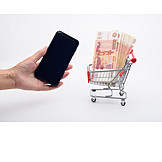 Shopping, Payment, Smart Phone