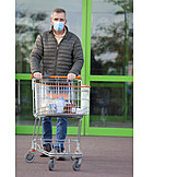 Shopping, Mouthguard, Corona