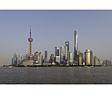 Shanghai, Pudong, Huangpu jiang