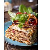 Dinner, Lasagna
