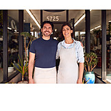 Couple, Business, Team, Store, Owner