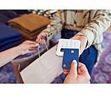Shopping, Credit Card, Cashless