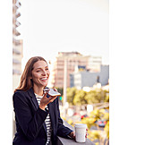 Geschäftsfrau, Mobiltelefon, Telefongespräch