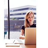Office, Laptop, Workplace