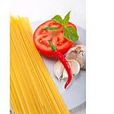 Spaghetti, Ingredients