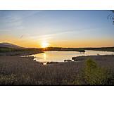 Sunset, Bavaria, Ainring Moor
