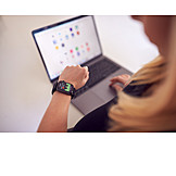 Data, Laptop, App, Smartwatch