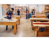 Craft, Education, Carpenter, Workbench, Carpentry