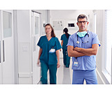 Doctor, Portrait, Hospital, Surgeon
