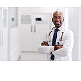Doctor, Portrait, Hospital