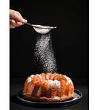 Seven, Cake, Powdered Sugar