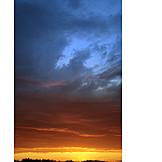 Thundercloud, Sunset, Clouds Sky
