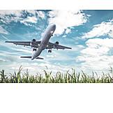 Airplane, Flight, Airliner