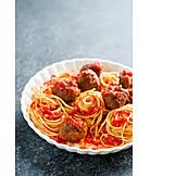 Spaghetti, Pasta, Pasta Dish, Meatballs