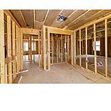 Building Construction, Beams, Wooden Construction
