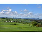 Meadows, Central Mountains, Saxon Switzerland