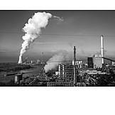 Industry, Coal Fired Power Plant, Steel Industry
