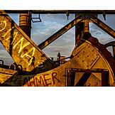 Industry, Steel Girder, Steel Industry
