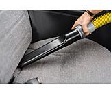 Car, Bench, Sucking, Vacuum Cleaners