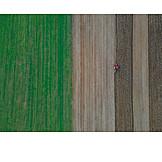 Acker, Landwirtschaft, Traktor