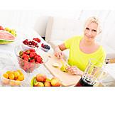 Obst, Zubereitung, Smoothie