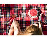 Kuchen, Decke, Picknick