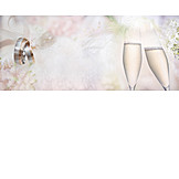 Wedding, Champagne, Wedding Ring