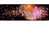 New Years Eve, Firework Display, Fireworks