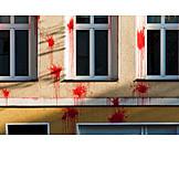 Property, Vandalism, Paint Bomb