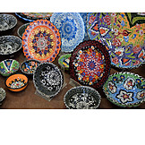 Crafts, Ceramics, Wall Plate