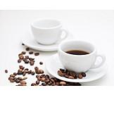 Coffee, Coffee Cup, Roasted Coffee