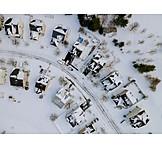 Winter, Snow, Residences