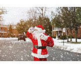 Winter, On The Move, Searching, Santa Clause, Snowing