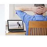 Online, Gymnastics, Home Office