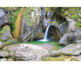 Waterfall, Porlezza