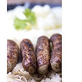 Sausage, Homemade, Nuremberger