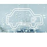 Auto, H2, Wasserstoffantrieb