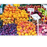 Fruit, Fruits, Market Stall, Harvest Fresh