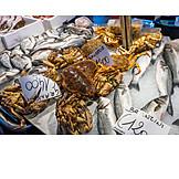 Fish, Fish Market, Crustaceans