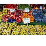 Fruit, Market Stall