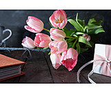 Tulpenstrauß, Geschenk, Muttertag