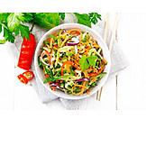 Healthy Diet, Asian Cuisine, Salad