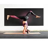 Balance, Yoga, Headstand