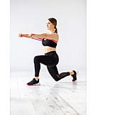 Fitness, Gymnastics, Exercise Band